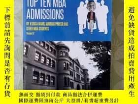 二手書博民逛書店THE罕見BEST BOOK ON TOP TEN MBA AD
