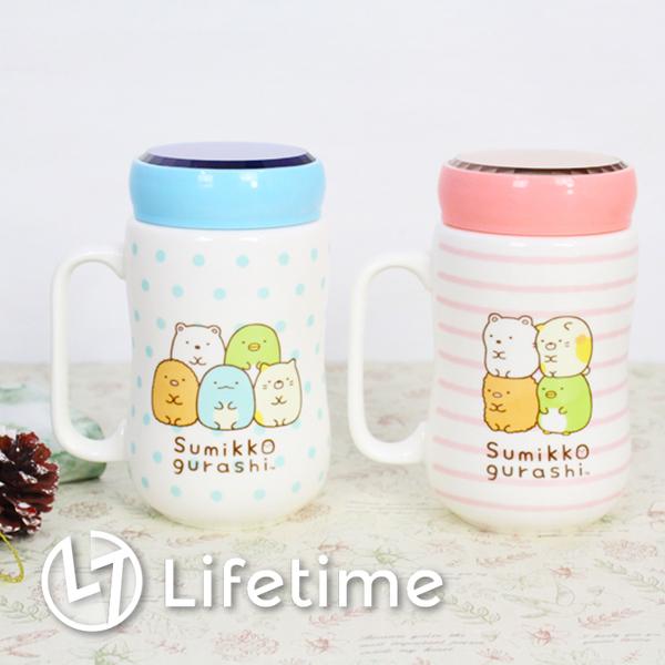 ﹝角落生物鏡面陶瓷馬克杯500ml ﹞正版咖啡杯 杯子 水杯 咖啡杯 牛奶杯〖LifeTime一生流行館〗B05852