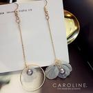 《Caroline》★ 韓國熱賣造型時尚 簡單時尚風格 耳環70815