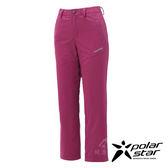 PolarStar 女 防水保暖長褲『桃紅』 P17410 休閒褲│釣魚褲│登山褲│耐磨褲
