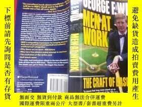二手書博民逛書店Men罕見At Work: The Craft Of Baseb