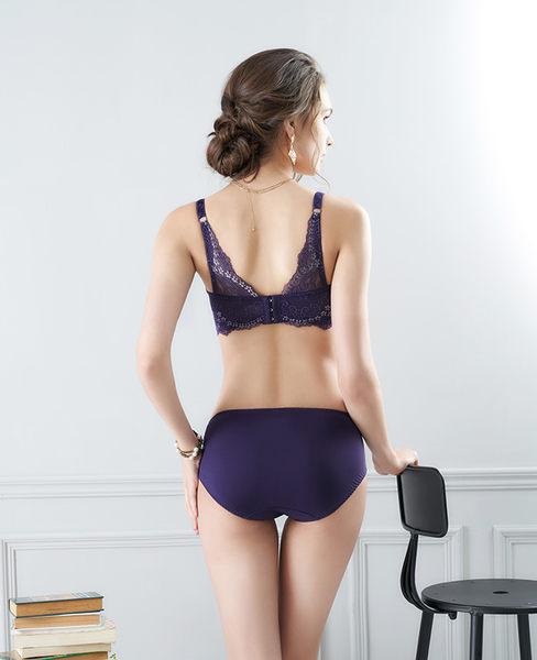 EASY SHOP-花氛宣言 美背款B-E罩內衣(迷蝶紫)