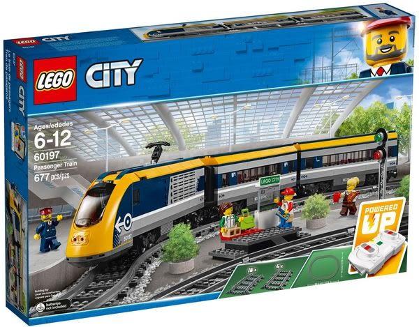 樂高LEGO CITY 載客高速列車 60197 TOYeGO 玩具e哥