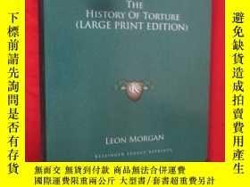 二手書博民逛書店The罕見History of Torture (大16開,硬精