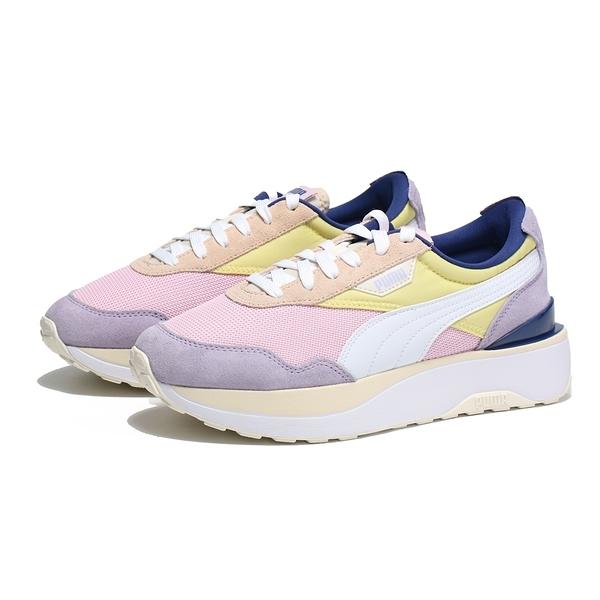 PUMA 休閒鞋 CRUISE RIDER SILK ROAD 黃粉紫 拼接 厚底 女(布魯克林) 37507201