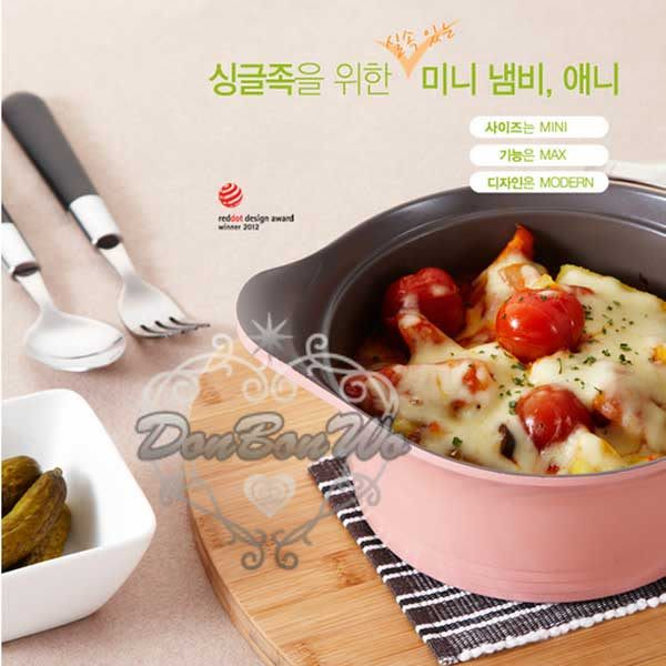 韓國Neoflam陶瓷不沾鍋湯鍋燉鍋20cm附蓋子粉912308通販屋
