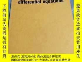 二手書博民逛書店Nonlinear罕見ordinary differential