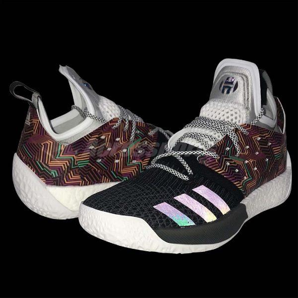 44353b22425 adidas 籃球鞋Harden Vol.2 Summer Pack 彩色黑哈登男鞋運動鞋 PUMP306 ...