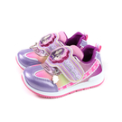 偶像學園 運動鞋 電燈鞋 紫色 魔鬼氈 中童 童鞋 ID5208 no814