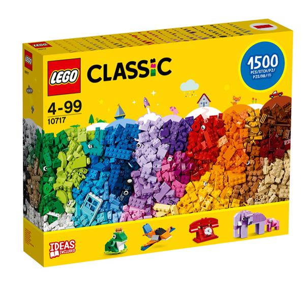 10717【LEGO 樂高積木】Classic 經典基本系列 - 樂高積木創意盒 (1500pcs)
