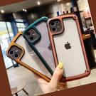 墨綠色全包邊蘋果11pro保護套X/XS XR透明亞克力蘋果XS Max手機殼適用8P / 7P