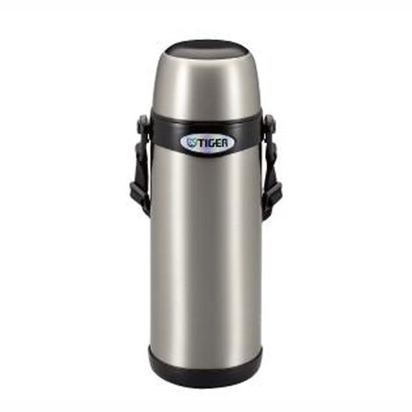 【南紡購物中心】TIGER 虎牌 1L不鏽鋼 經典背帶系列保溫保冷瓶  MBI-A100