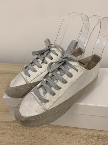 厚底懶人鞋潮帆布鞋休閒鞋(33號/777-1066)
