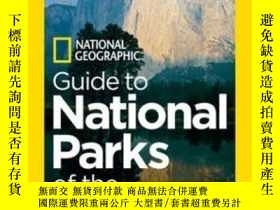 二手書博民逛書店National罕見Geographic Guide To National Parks Of The Unite