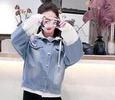 少女外套牛仔春季女新款韓版學生bf寬鬆短款牛仔服上衣褂