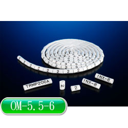 KSS O型配線標誌 OM-5.5-6 (100入)