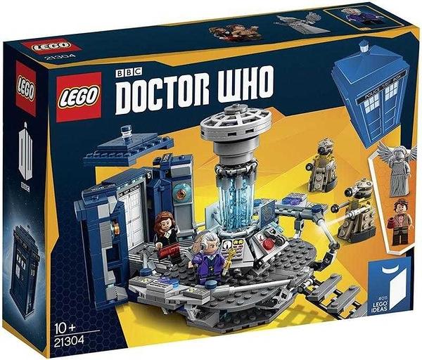 LEGO 樂高 CREATER 創意系列 Doctor Who 超時空博士 21304