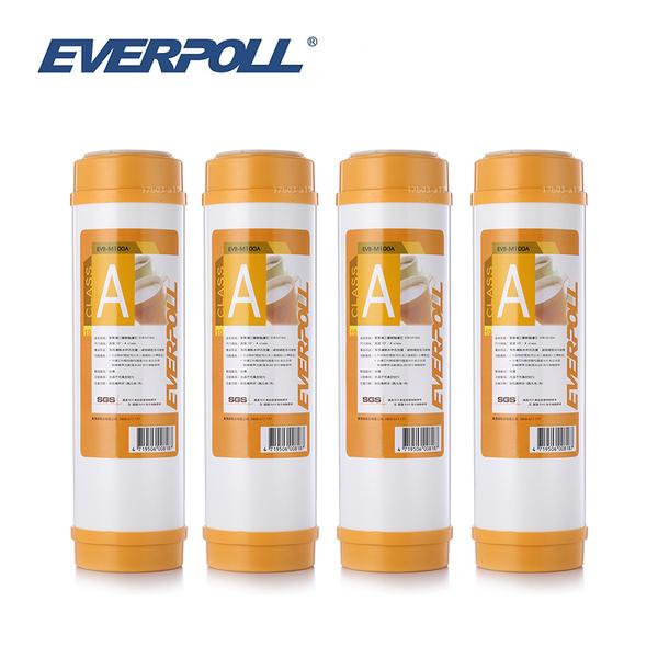 (4支入)EVERPOLL EVB-M100A 10吋標準型美國道爾樹脂濾芯