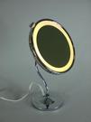 【麗室衛浴】國產(單面) 桌上型LED 放大3 倍化妝壁鏡 MD0751-L