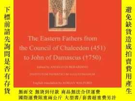 二手書博民逛書店Patrology:罕見The Eastern Fathers From The Council Of Chalc