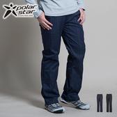Polarstar 保暖長褲│抗風│格紋男長褲 P13413『深藍』