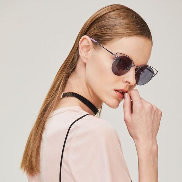 NINE ACCORD 太陽眼鏡 KISSING-ORTWO C04 (紫) 簍空造型金屬款 # 金橘眼鏡