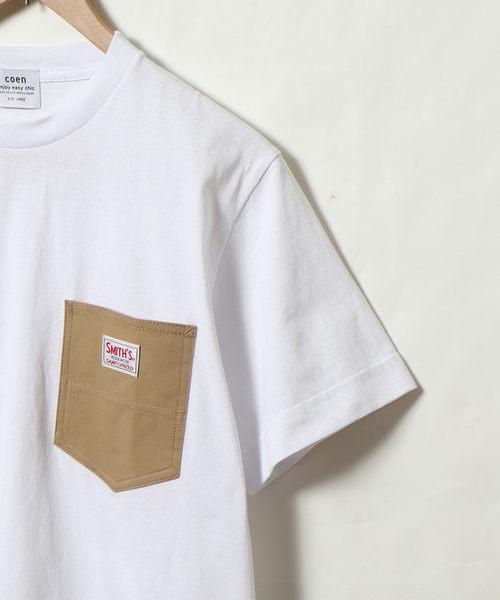 出清 口袋T恤 男 工裝 SMITH聯名 免運費 日本品牌【coen】