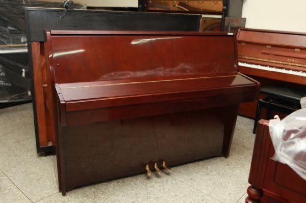 【HLIN漢麟樂器】-日本原裝kawai河合123號直立式中古二手鋼琴-原木-亮黑-豪華34