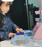 手指彈射籃球diy投籃機玩具桌上彈珠球 兒童益智桌游  LannaS  YTL