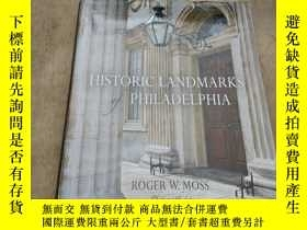 二手書博民逛書店historic罕見landmarks of philadelp