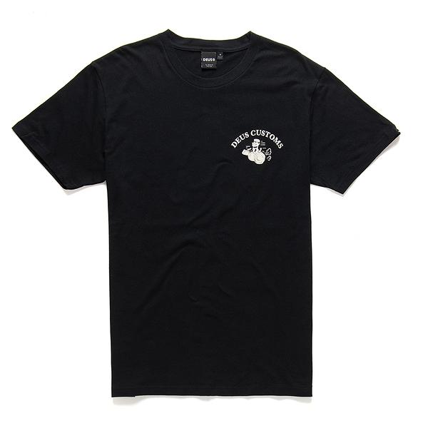 Deus Ex Machina Gee Whiz Tee T恤-(黑)