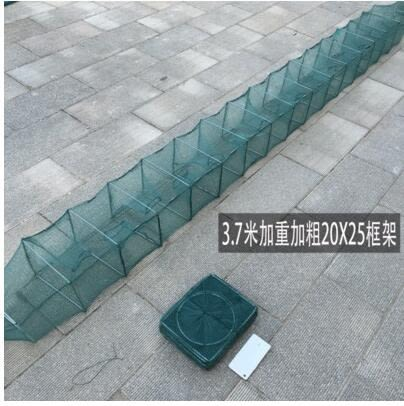 自動捕魚龍蝦螃蟹黃鱔泥鰍折疊籠工具tz27【歐爸生活館】