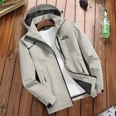 加絨衝鋒外套 衝鋒衣男加絨加厚秋冬季登山服三合一可拆卸女戶外套棉衣防水風衣T 多色M-4XL