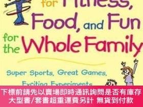 二手書博民逛書店365罕見Activities For Fitness, Food, And Fun For The Whole