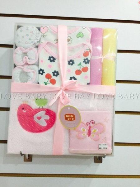 ☆╮寶貝丹童裝╭☆ 小 BABY 滿月禮盒 / 彌月禮盒 短袖 / 長袖 8件組 (最夯送禮自用兩相宜) 現貨