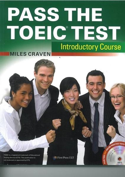 (二手書)Pass the TOEIC Test Introductory Course(with MP3+Key audio scrip..