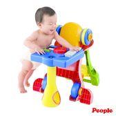 日本People-多功能趣味學步圓桌(8個月-3歲)