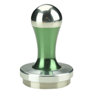 金時代書香咖啡 Tiamo 多款炫彩 T02-SP專用填壓器58mm 綠色 HG2869G