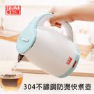 現貨蒂芬妮綠色【卡莉娜】 1.8公升不鏽鋼快煮壺CN-2255 省時省電 12分鐘即可煮沸