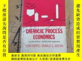 二手書博民逛書店Chemical罕見process economicsY2524