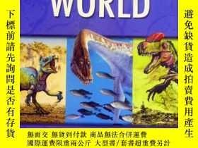 二手書博民逛書店英文原版罕見少兒百科繪本 Prehistoric world: