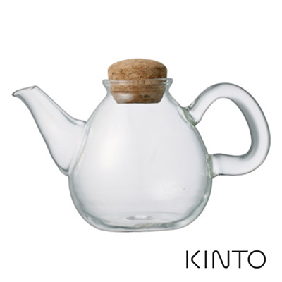 KINTO PLUMP 玻璃壺 150ml 冷水壺 耐熱玻璃茶壺 牛奶壺 油醋壺 日系簡約風 好生活