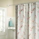 高檔加厚浴簾套裝浴室掛簾子防潑水防霉免打孔衛生間窗簾布隔斷門簾