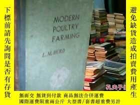 二手書博民逛書店罕見MODERN-POULTRY-FARMING(現代養禽學)Y27902 L.M.HURD L.M.HURD