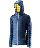 【速捷戶外】《Wildland 荒野》男700FP連帽輕羽絨衣-深灰藍