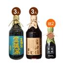 【豆油伯】金美滿+缸底醬油6入推薦組送小甘田醬油*2(市價340)