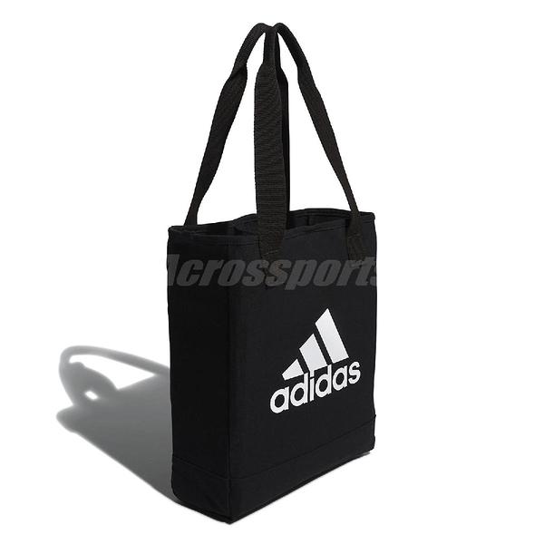 adidas 托特包 Canvas Per Tote Bag 黑白 購物袋 單肩背 男女款 【PUMP306】 FN1370