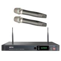 MIPRO ACT-2412A / ACT2412A 分離式天線1U雙頻道接收機 配2支手握無線麥克風ACT-24H