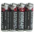 【奇奇文具】永備  黑貓碳梓電池  AA NO.3號電池  (4入/封-收縮膜)  (單封)