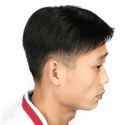 假髮片(真髮絲)-自然逼真隱形補髮男假髮73uf37[時尚巴黎]
